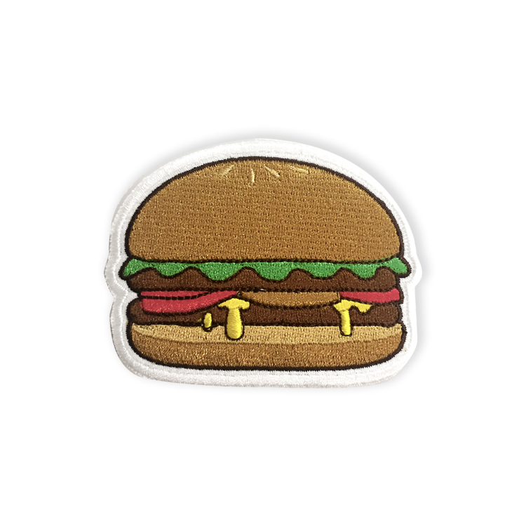 Embroidered Burger Patch(1)