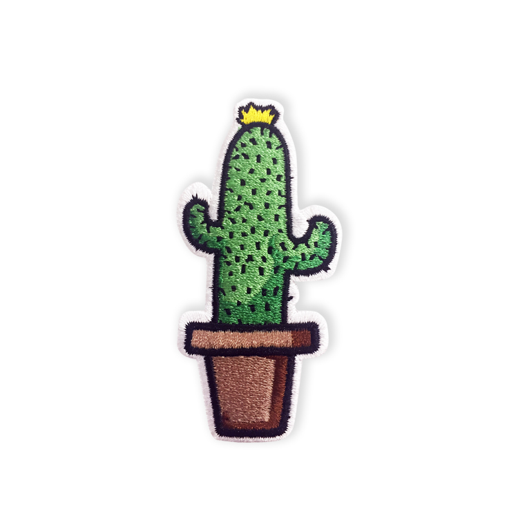 Embroidered Cactus Patch(1)